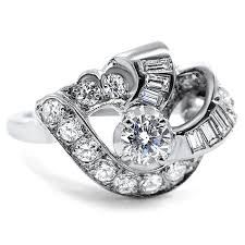 asymmetrical engagement rings - Google Search