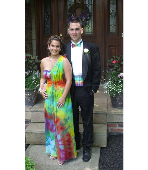Tye Dye Prom Dress - Ocodea.com