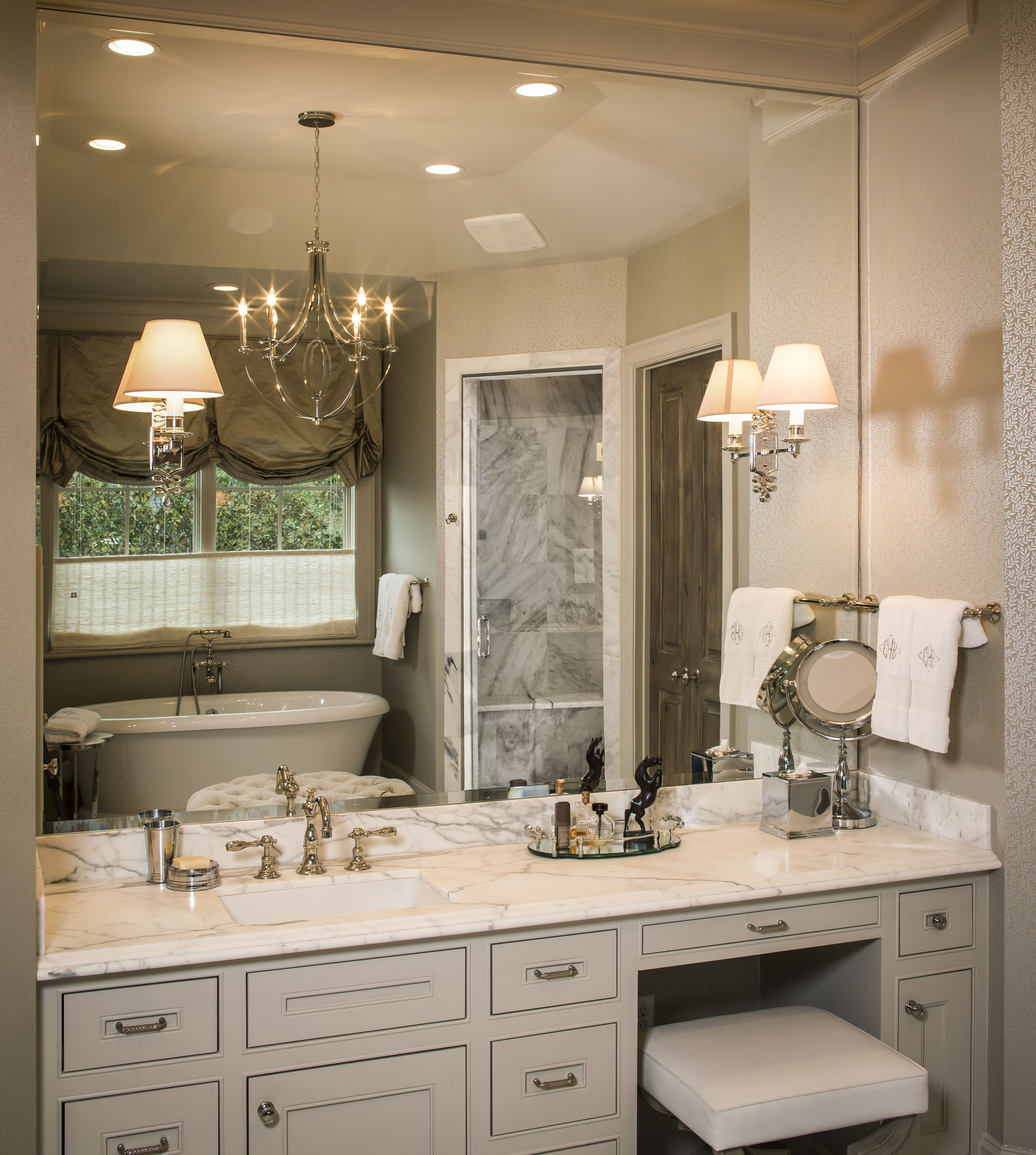 Cindy Witmer Designs In 2019: White And Grey Bathrooms Ideas