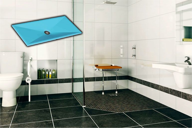 Take The Guesswork Out Of Curbless Shower Construction Shower Systems Curbless Shower Pan Shower