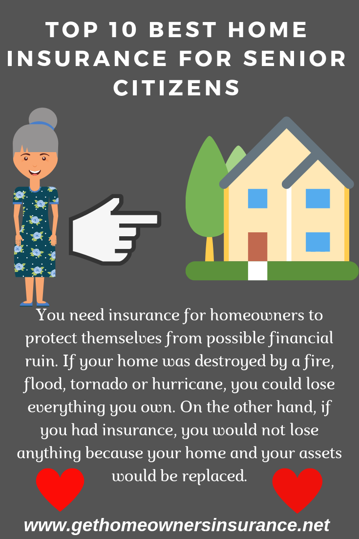 Top 10 Best Home Insurance For Senior Citizens You Need Insurance
