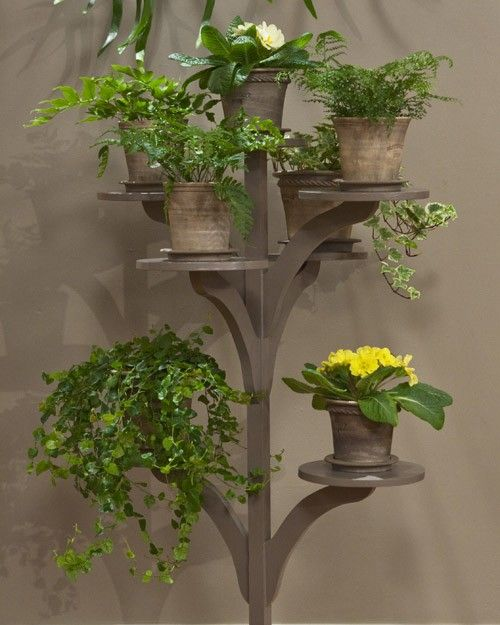 This Elegant, Handcrafted Stand Is An Excellent Way To Display Plants Of  All Shapes And