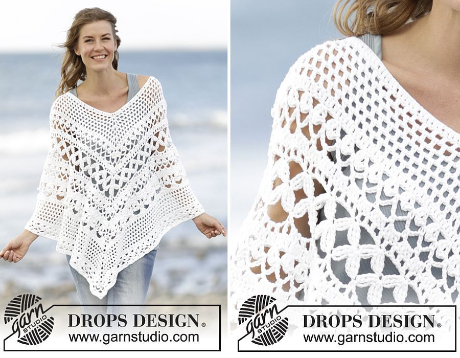 Flatter Your Figure With These Free Crochet Poncho Patterns Adult