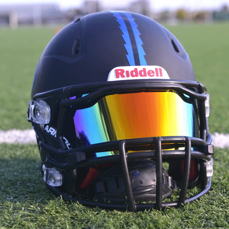 1d6a7863 Football helmets with visors Riddell pink - Google Search   Sports ...