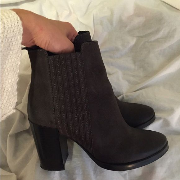 All Saints Jinx Boots Worn once. Originally $360 + tax! All Saints Shoes Ankle Boots & Booties