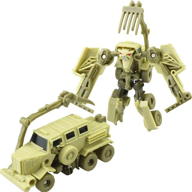 Transformer Action Figure Mini Robot Car Toys For Children Transformation Gifts