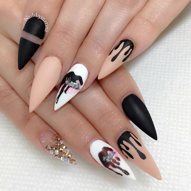 Fab Ideas For Stiletto Nails Designs Create Your Look See More