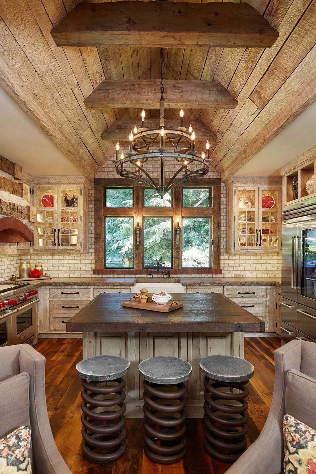 16 Coolest Rustic Decorating Ideas Rustic Modern Kitchen Modern Rustic Decor Rustic Kitchen