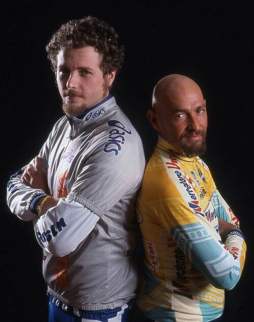 Marco Pantani & Lorenzo Jovanotti...