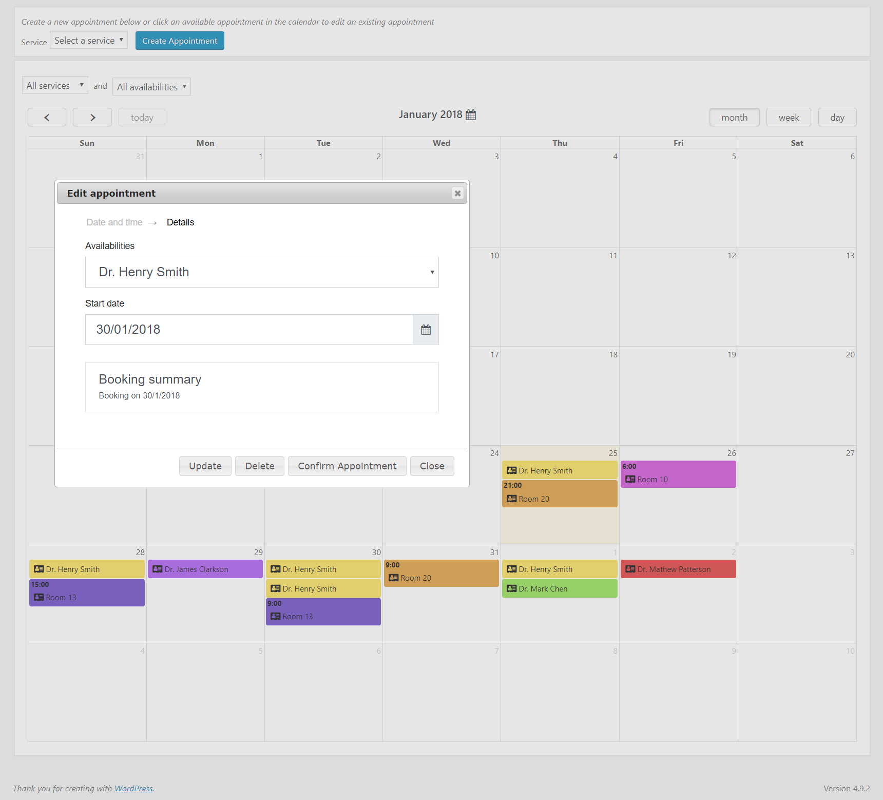 Calendarista Premium WP Appointment Booking Plugin and