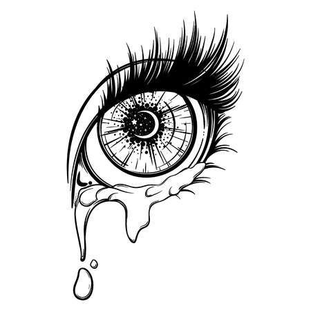 20+ Cry Clipart Black And White