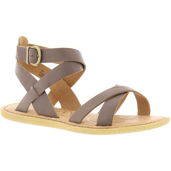650ba76797eb Born Kindu Women s Grey Sandal 10 M ( 85) ❤ liked on Polyvore featuring  shoes