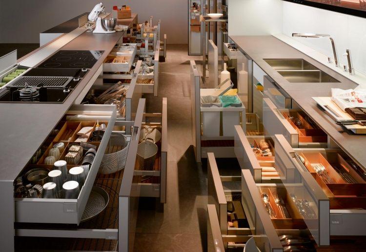 Stauraum in der Küche optimal organisieren - ein Traum jeder - küche mit schräge