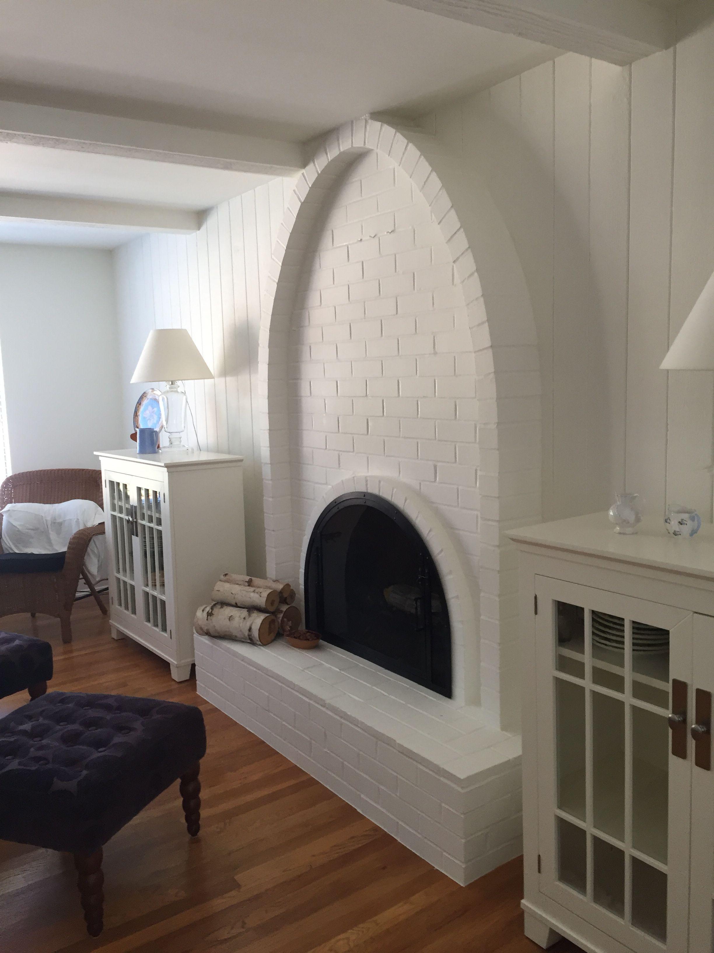 Carol's fireplace