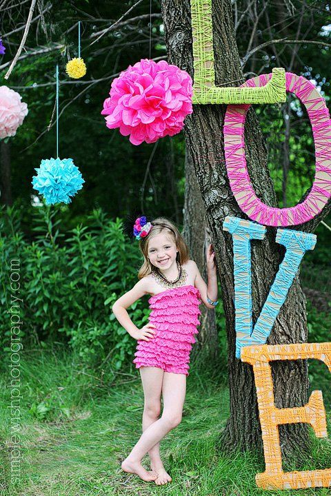 Oh These Letters - need to make a K and 12 for Kalin's Senior Pics!!