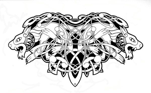 Awesome Celtic Animals Tattoo Design Celtic Animals Celtic Tattoos Celtic Tattoo
