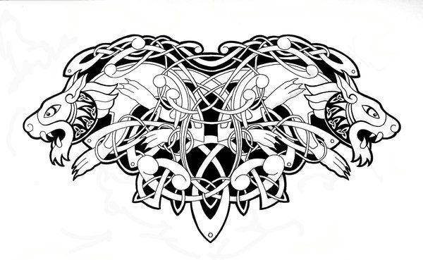celtic animal tattoos - Google Search