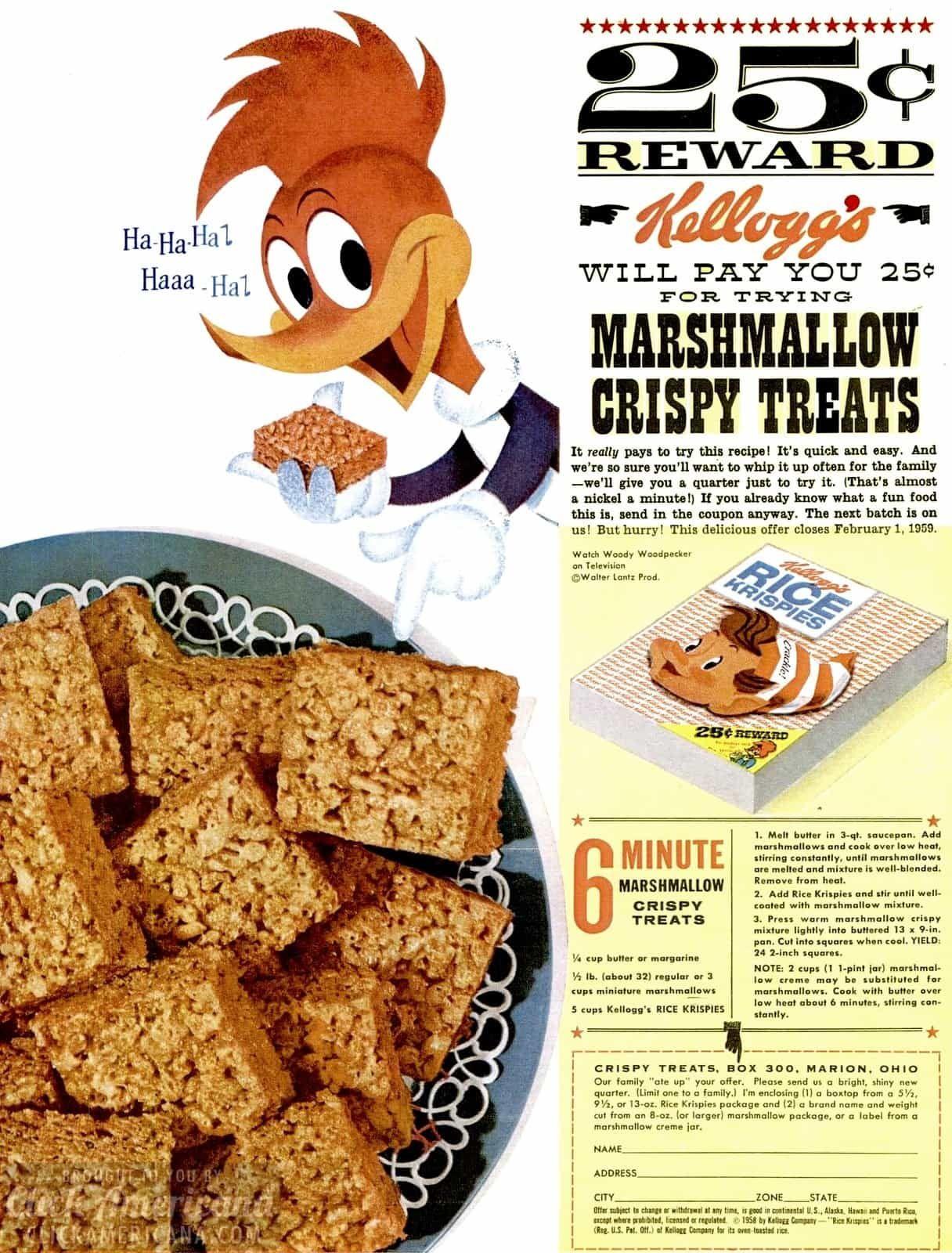 Today S Version Recipe Rice Krispy Treats Recipe Rice