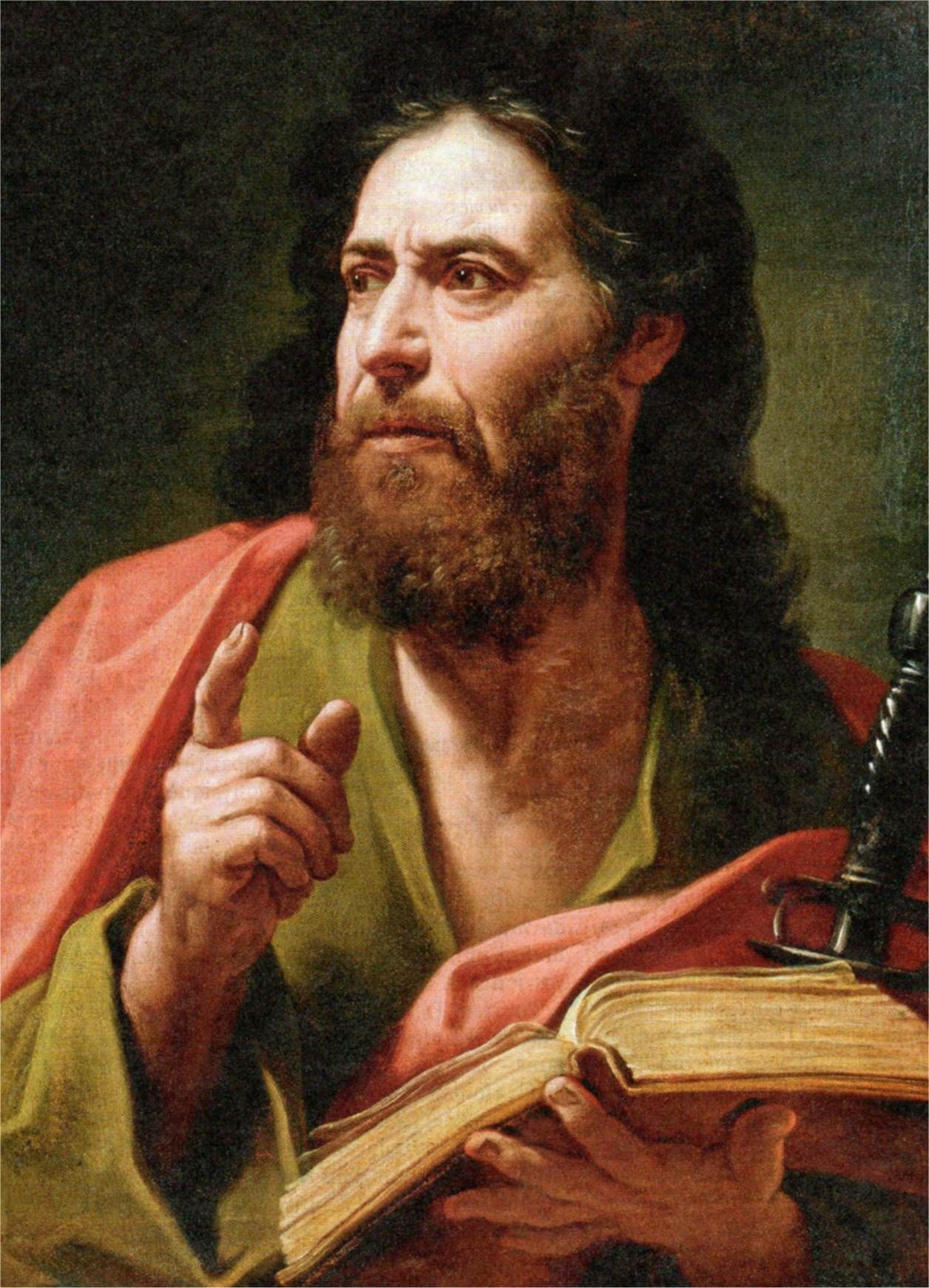 peter the apostle An apparition of the apostle peter to saint peter nolasco, by francisco zurbarán, 1629.