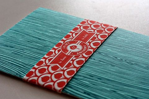 Designspiration — FFFFOUND! | design work life » Kate Holgate: Jaime and Anthony Wedding Invitations