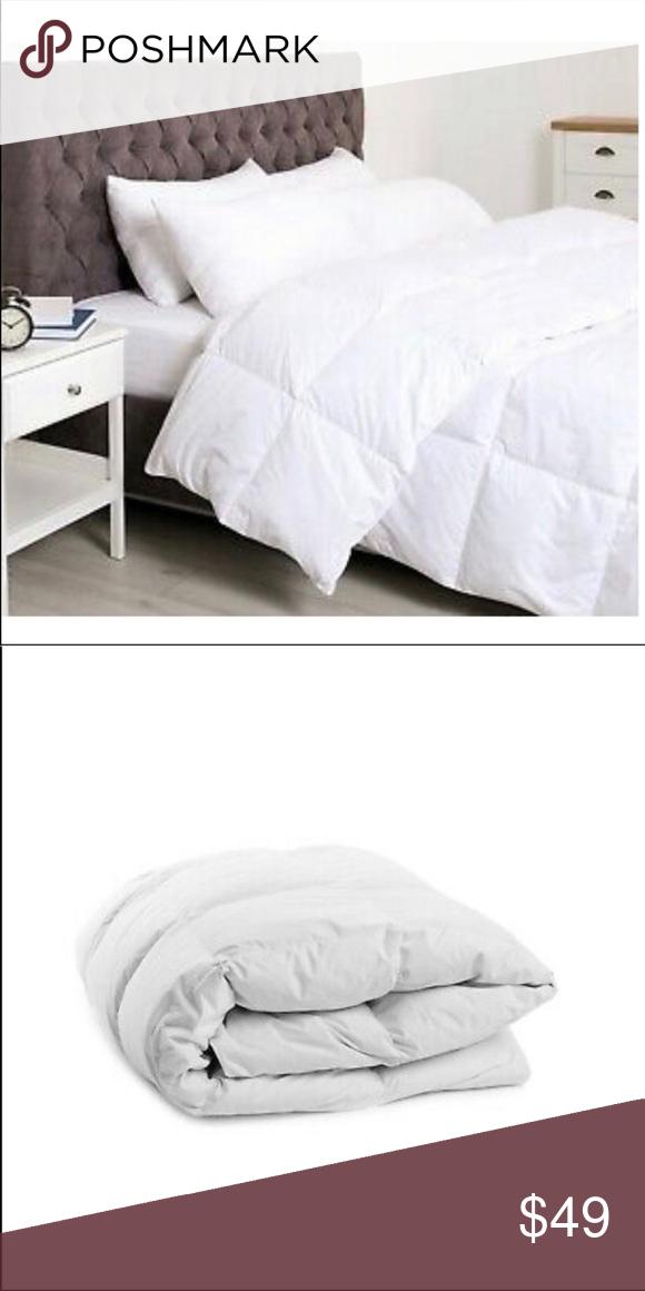 Super Soft Light White Down Alternative Comforter Clothes Design Cal King Bedding Contemporary Bed