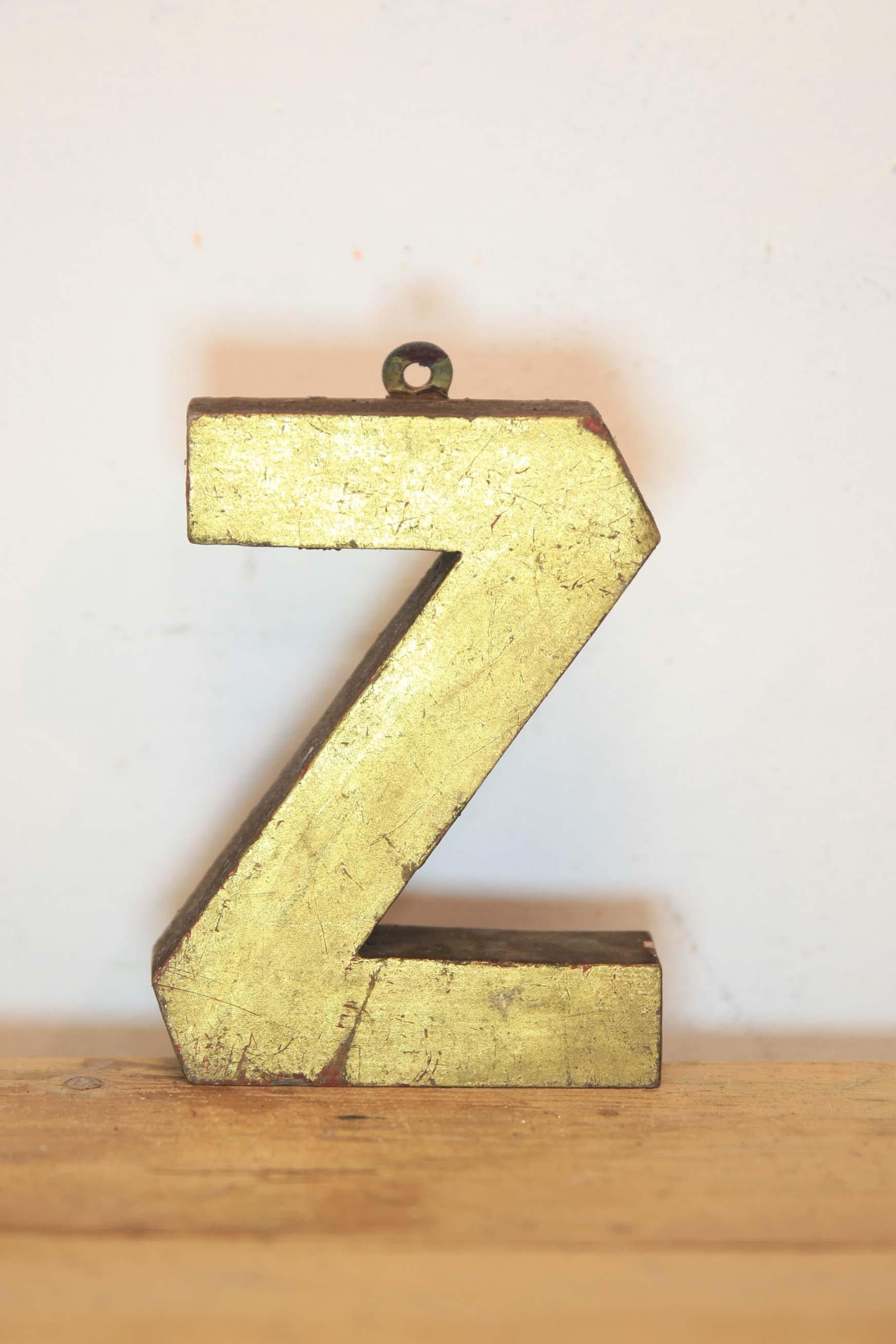Vintage Letter Z, Alphabet, Z, Wall Art | Walls, Wall decor and Etsy