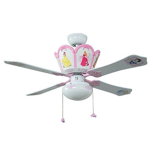 Princess ceiling fans photo 1 lighting 2 pinterest ceiling princess ceiling fans photo 1 aloadofball Image collections
