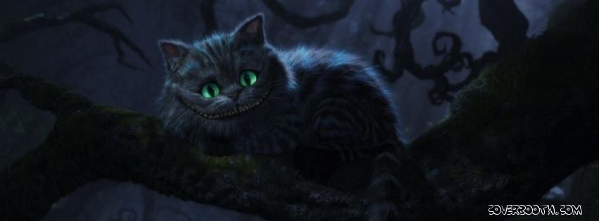 Timeline Covers Fabook Timin Covrs Cheshire Cat