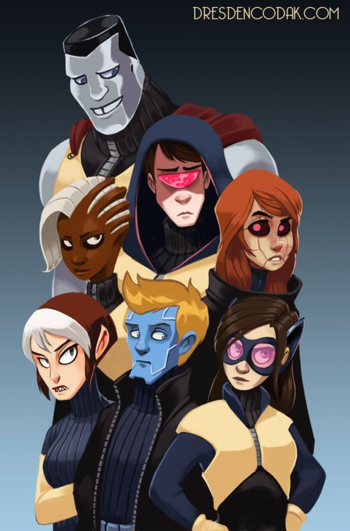 Really clever re-imagining of X-Men