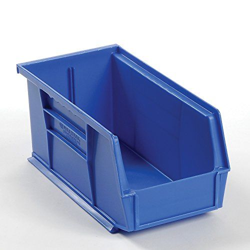 Price Tracking For Plastic Stacking And Hanging Parts Bin 5 1 2 X 10 7 8 X 5 Blue Lot Of 12 Qus230bl Price History Chart And Drop Alerts For Amazon Many Small Parts Storage Storage Storage Bin