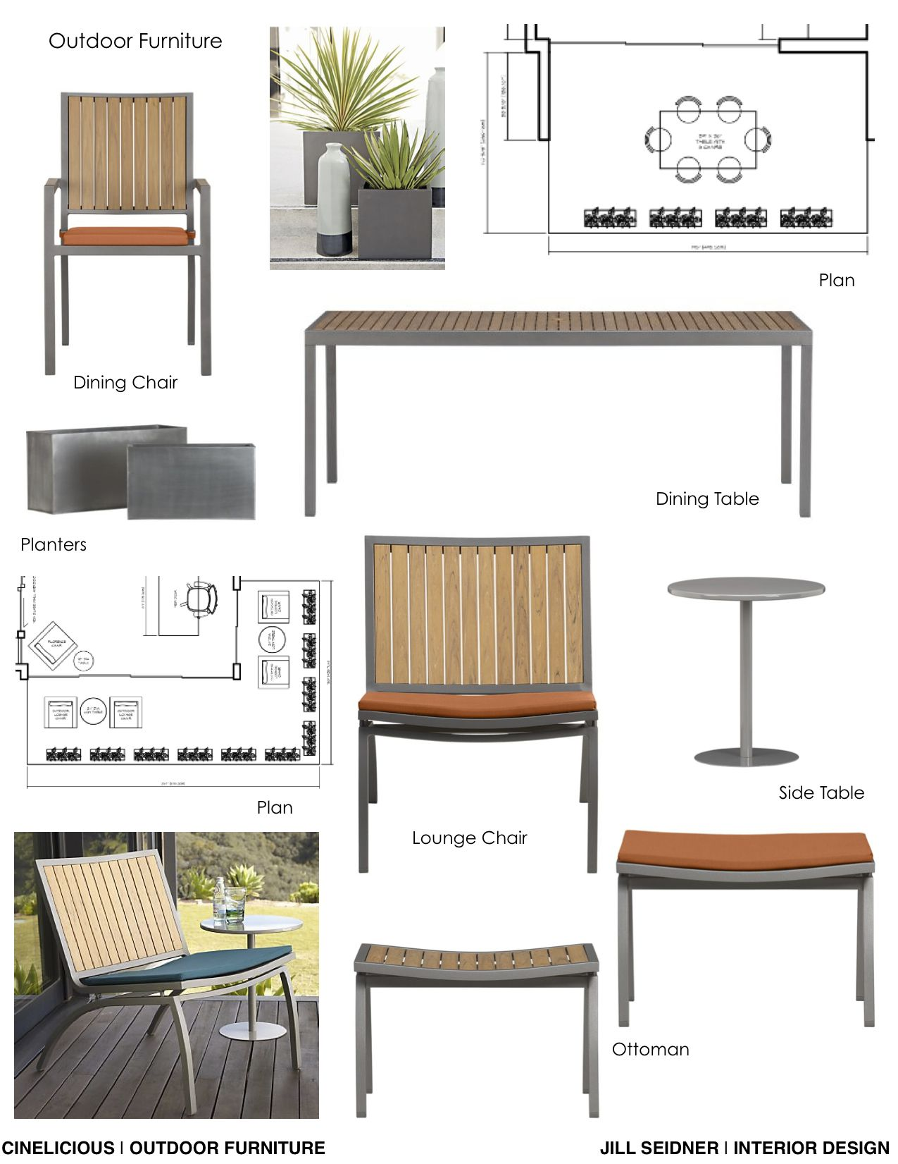 Cinelicious Office Hollywood Outdoor Furnishings Concept