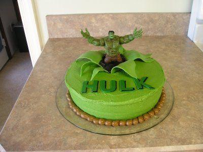 HULK cake Birthday cakes Birthdays and Cake
