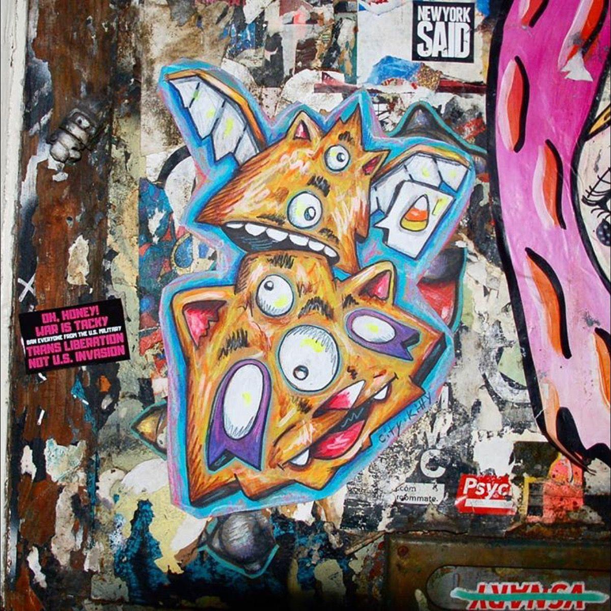#ART #ArtPhotography #Travel #Explore #CityKitty #NY #UrbanArt #Graffiti #StreetArt #8bit #ArtLover #ModernArt #ArtstaGram #PositiveVibes