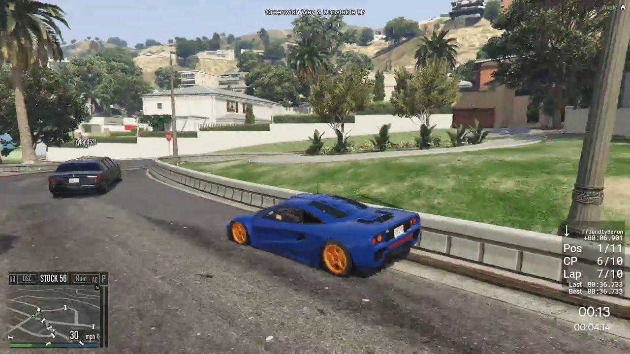 Random Transform Race In FiveM #GrandTheftAutoV #GTAV #GTA5