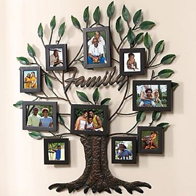 Unique Family Tree Collage Picture Frames Set Of 10 Dream House