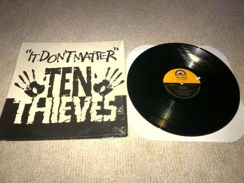 Ten Thieves It Don't Matter Vinyl (Radio Mix, Straight Mix, B-A-D Mix) #rozasebay #ebay #ebayuk