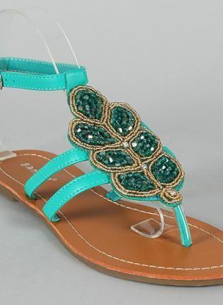 Aqua Goddess Sandals,  Shoes, sandals, Bohemian (Boho) / Hippie