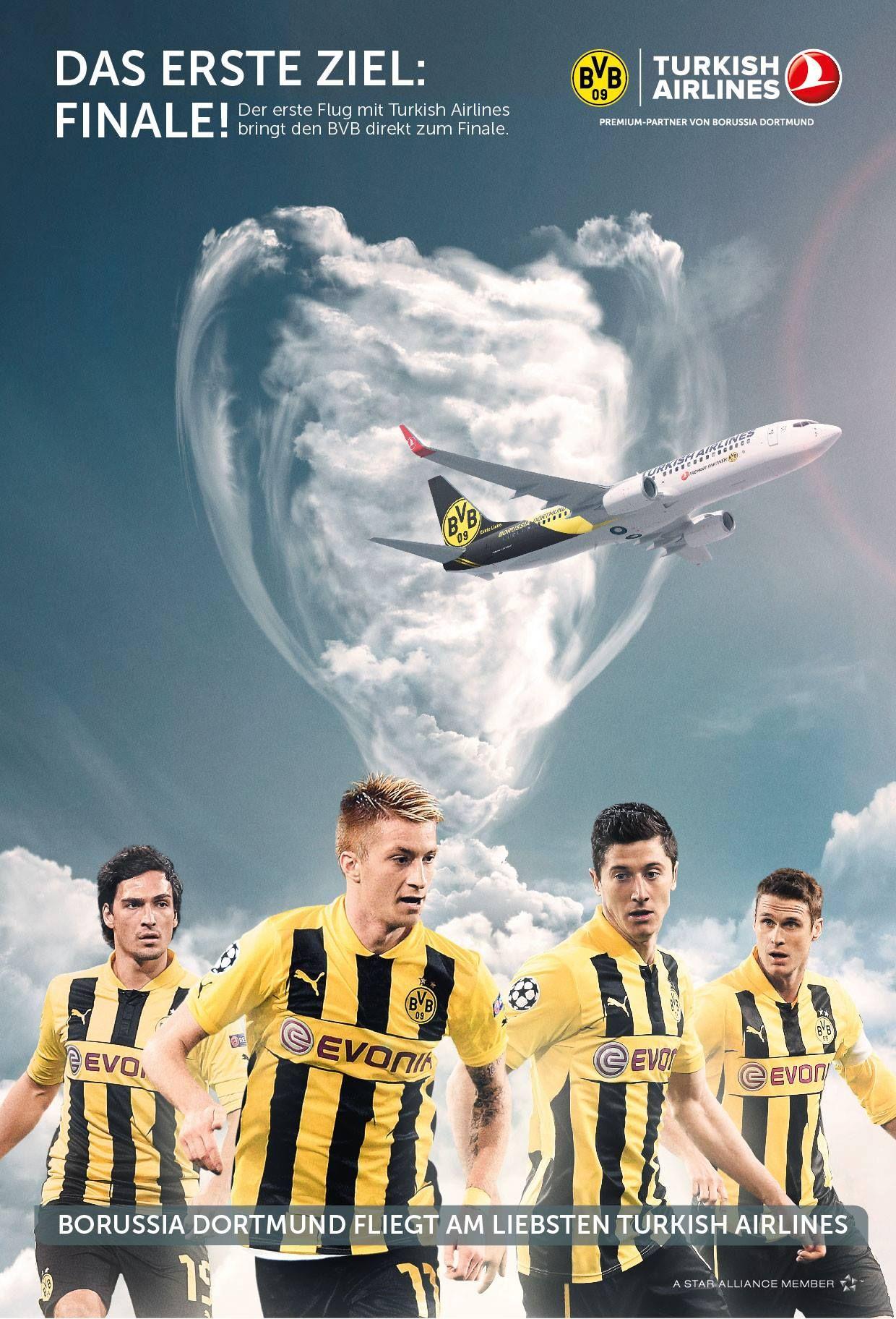 Borussia Dortmund, Turkish Airlines | SchwarzGelb | Borussia