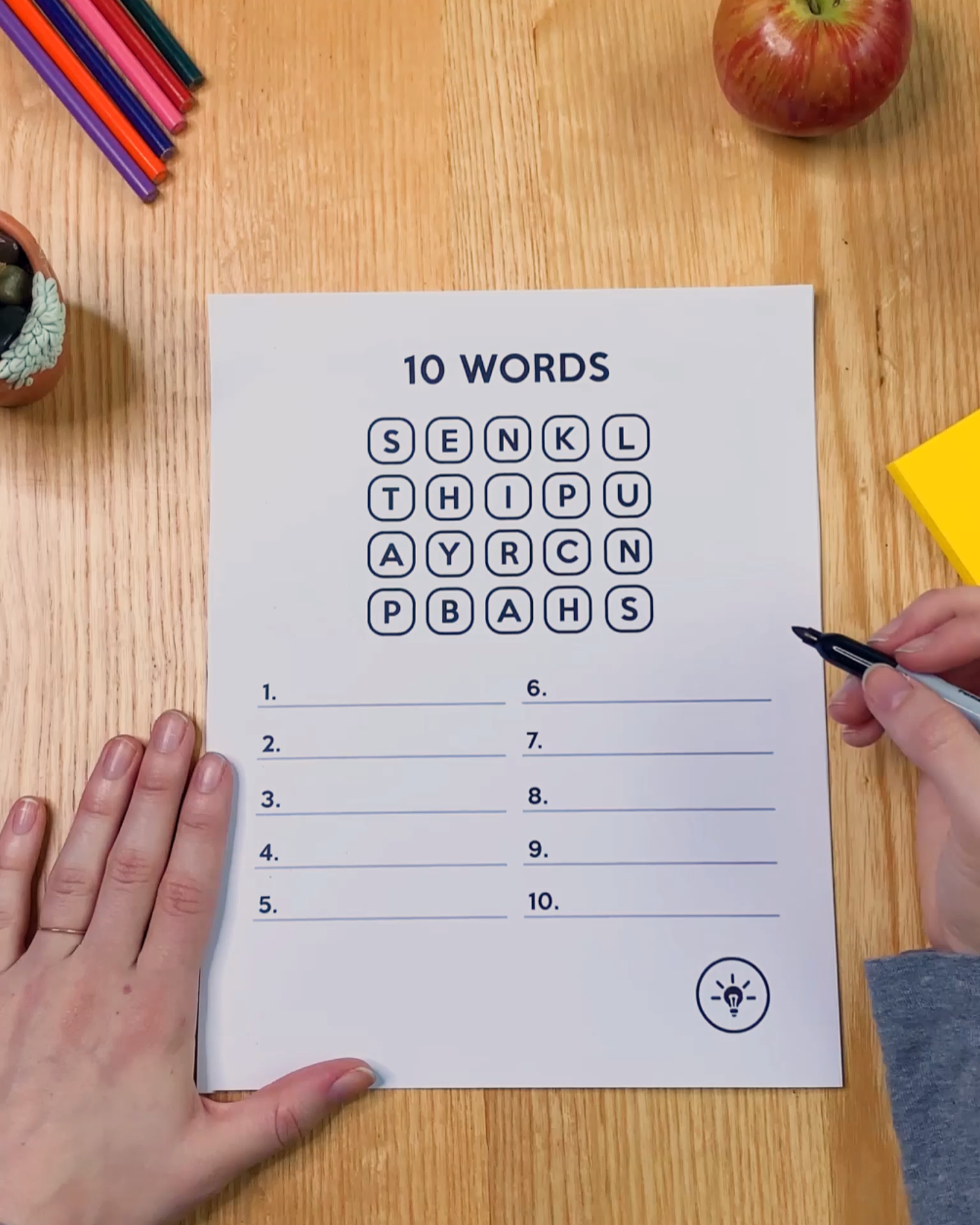 10 Words Can You Find Them All Video Teaching Skills Teaching Kids Teaching
