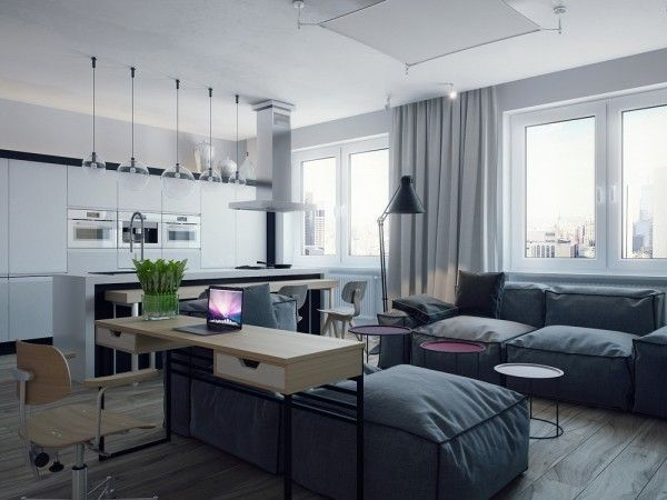 awesome Studio Apartments for Young Couples & awesome Studio Apartments for Young Couples | Bedroom Design ideas ...