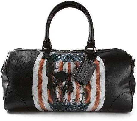 03470ad3bf Men's Black Skull Luggage Bag | FASHION BOARD # 1 | Luggage bags ...