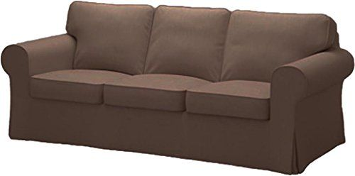 Ikea doesn't sell replacement cushions and i don't believe they are covered by the 10 year warranty. The Cotton Ektorp 3 Seat Sofa Cover Replacement Is Custom ...