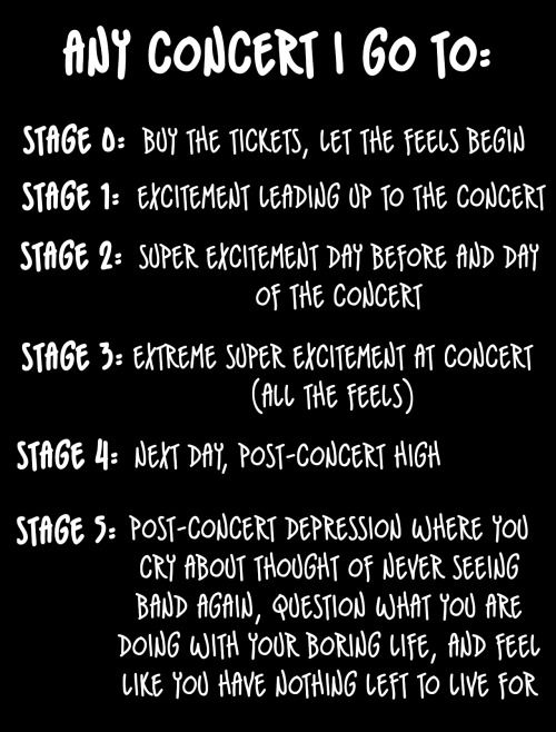 All The Feels Concertfeels Music Life Music Concert Lyrics