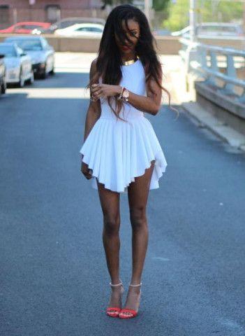 6fd736ac84db White Sexy Short Summer Dress – Lyfie
