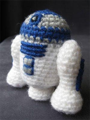Star Wars Amigurumi Pattern R2 D2 Sewing Star Wars Crochet