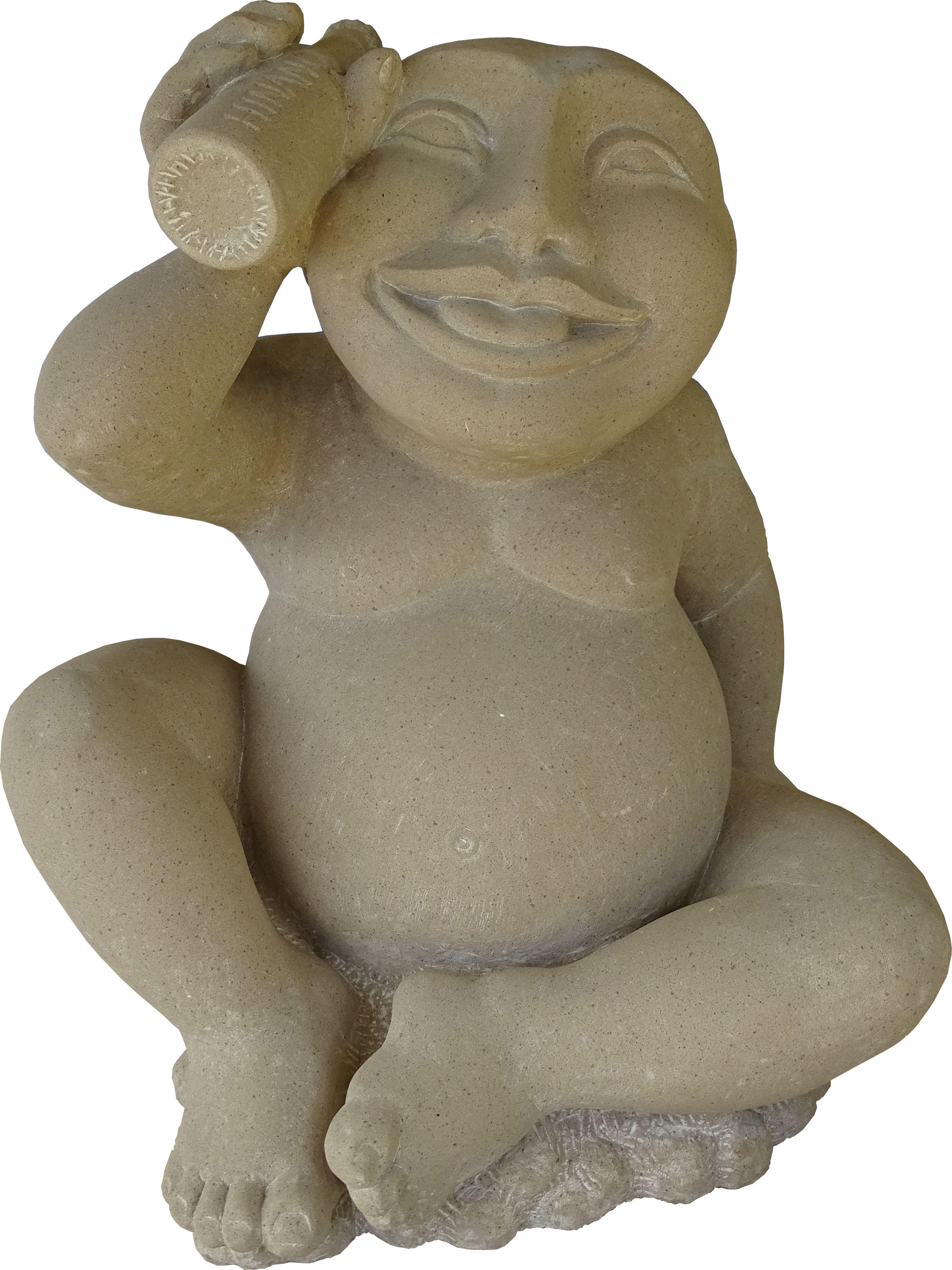 Statue en pierre de sable Allemagne 2008 48 x 42 x 35cm 870 000 XPF.