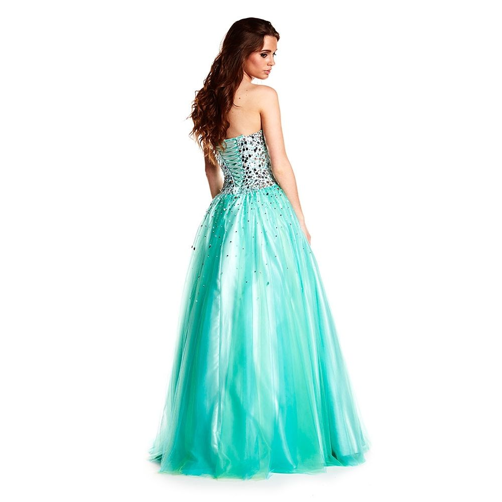 Ruby Prom- London. Available in Silver, French Navy/Silver, Aqua ...