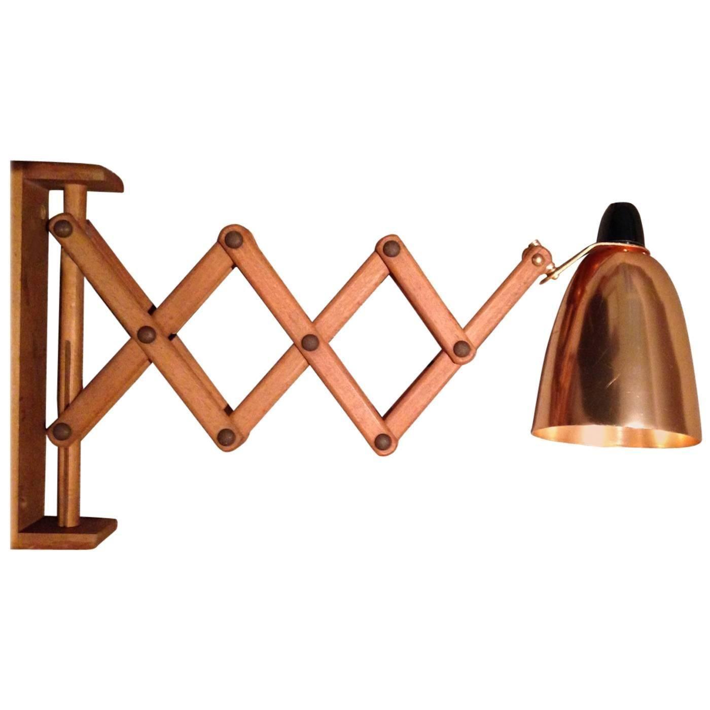 Rare Terence Conran 1950s Copper Wall Lamp 1stdibs Com Wall Lights Copper Wall Vintage Wall Lights