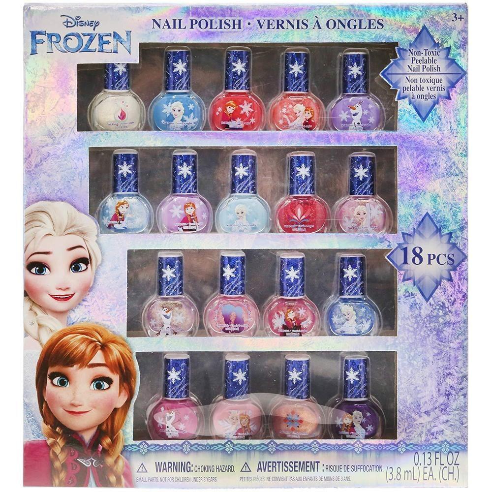 Disney frozen best peeloff nail polish deluxe gift set