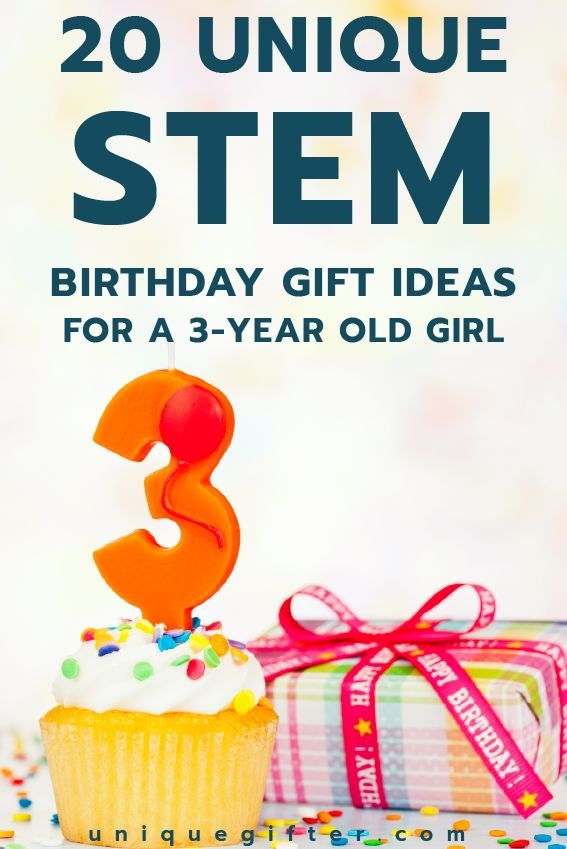 20 STEM Birthday Gift Ideas for a 3 Year Old Girl | 3 year ...